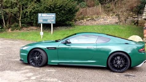 aston martin racing green aston martin dbs racing green passenger ride