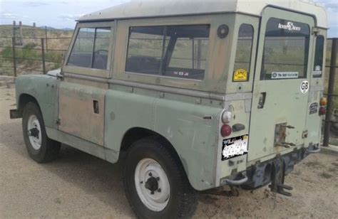 classic land rover for sale 1960 land rover 88 series 2 series ii classic iconic for