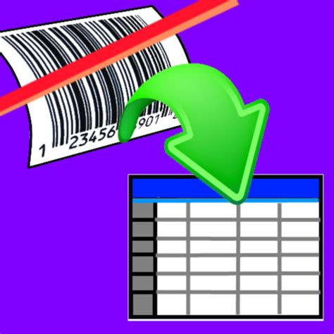 Iphone Scan Barcode To Spreadsheet by Scan To Spreadsheet On The App Store