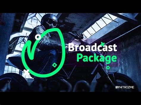 Broadcast Package After Effects Template Youtube Broadcast After Effects Template