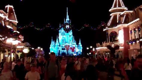 walt disney world magic kingdom christmas decorations at