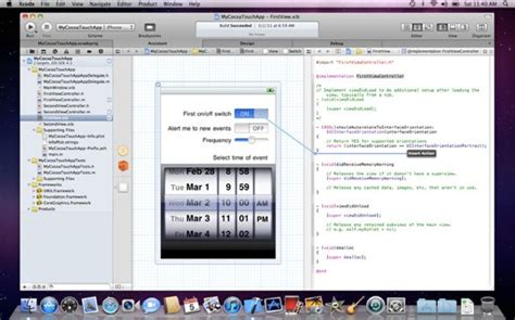 xcode osx layout xcode 4 unifies design and code view available to all for