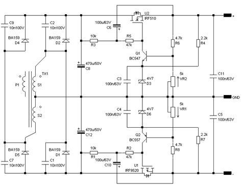 capacitance multiplier psu odibu hi fi headphone line lifier prelifier