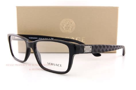 brand new versace eyeglass frames 3198 gb1 for black