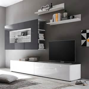 wohnzimmer in weiß grau wohnzimmer wohnwand wei 223 deutsche dekor 2017 kaufen