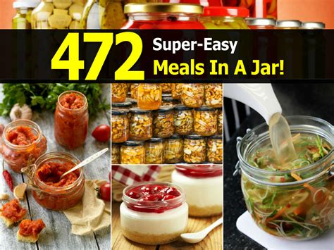 meals in a jar 472 easy meals in a jar