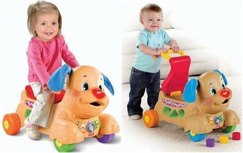 fisher price puppy walker fisher price laugh and learn stride to ride puppy only 32 99 reg 49 99