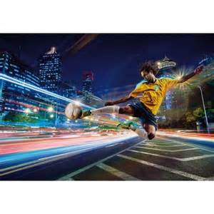 street soccer wall mural 8 953 by komar wall murals soccer wall murals for your interior design wallpaper