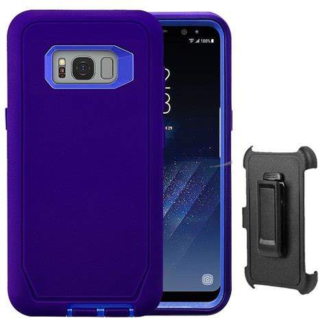 Hardcase Doff Samsung S8 rugged samsung galaxy s8 s8 plus belt clip fits otterbox defender ebay