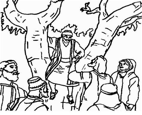 imagenes cristianas para colorear dibujos para colorear de zaqueo imagenes cristianas para