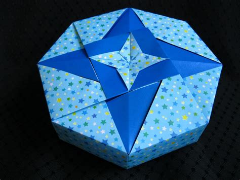 Origami Octagon Box - gbgifts octagon origami box