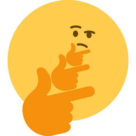 emoji thinking emoji thinking clipart clipartxtras