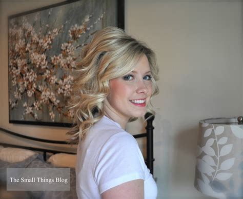different hair styles withthe wand how to use a curling wand the small things blog