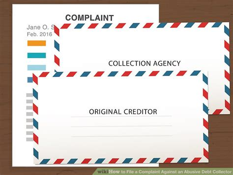 printable version of fdcpa how to file a complaint against an abusive debt collector
