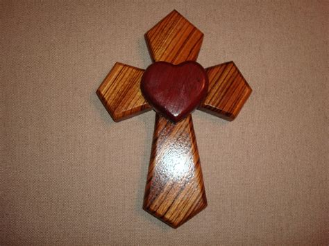 Handmade From Wood - not to us oh lord handmade wooden cross with