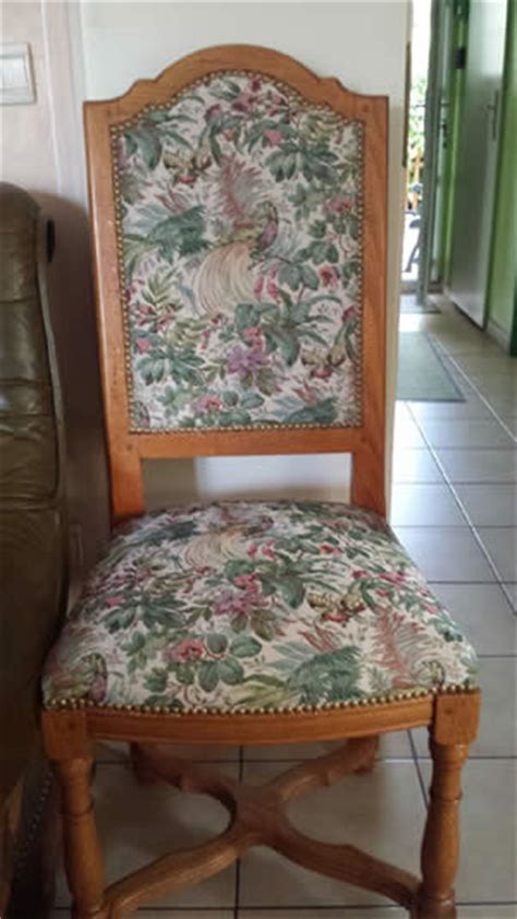 Tapisserie Chaise by Nos R 233 Alisations Tapisserie Cannage Rempaillage Yvelines