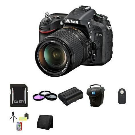 nikon d7100 dslr w 18 140mm lens 64gb kit 845251050882 ebay