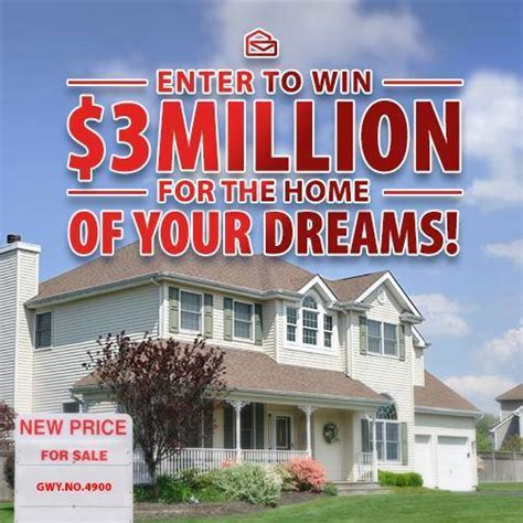Sweepstakes Clearinghouse Vouchers - win 3 million dollars for your dream home pch sweepstakes html autos weblog