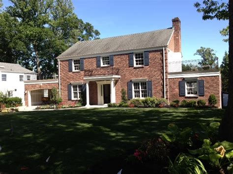 brick colonial homes brick colonial house