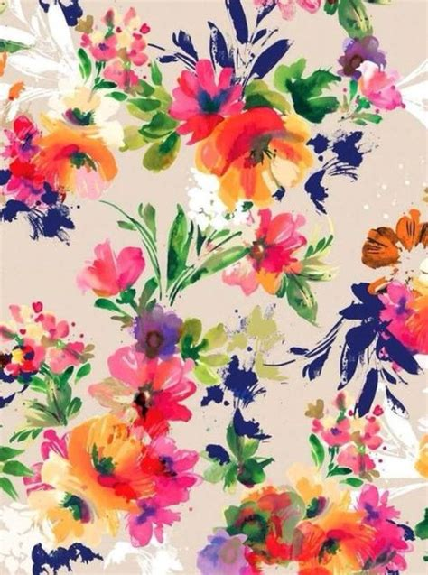 flower pattern we heart it flower wallpaper background pinterest we heart it