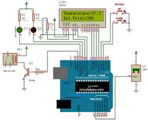 arduino temperature controller circuits4you