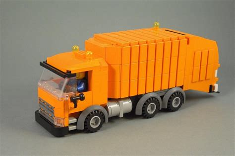 lego truck not your typical trash truck the brothers brick the