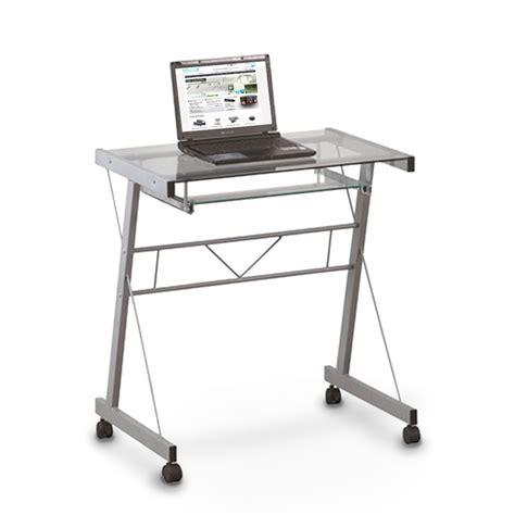 Kleiner Schreibtisch Auf Rollen by Schreibtisch Mit Rollen Computer Schreibtisch Arnhild Mit