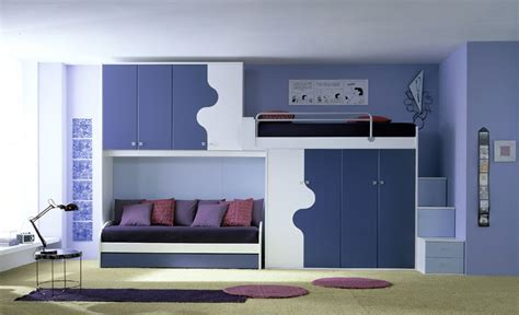 Childrens Bedroom Designs Ergonomic Bedroom Designs For Two Children From Linead Kidsomania