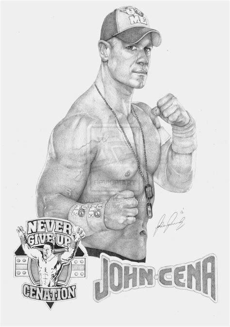 wwe neville coloring page john cena 2012 by lucas 21 on deviantart wwe