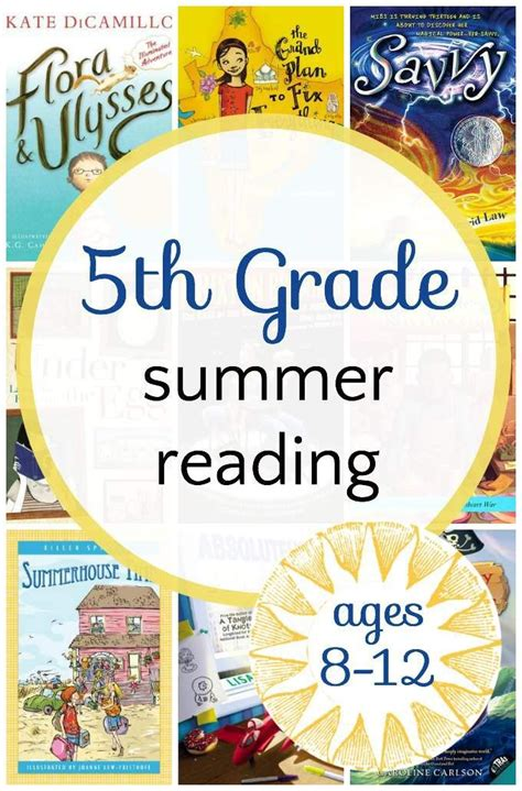 5th grade picture books engaging 5th grade summer reading book list summer