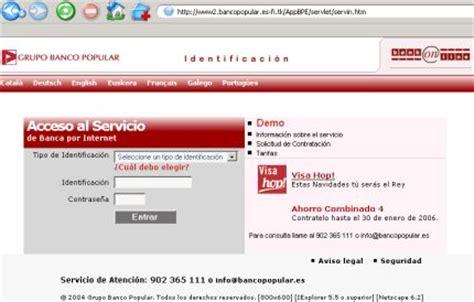 pagina banco popular banca por internet del banco popular blog de opcionis