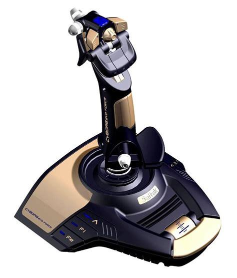 Joystick Microsoft Flight Simulator saitek cyborg evo feedback gold saitek flight