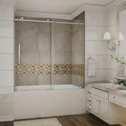 frameless sliding shower doors prices aston moselle 60 in x 60 in completely frameless sliding