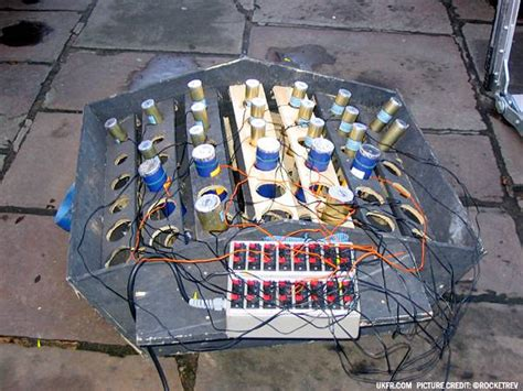 Firework Racks by Candle Racks Fireworks Forum