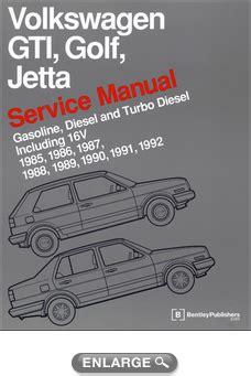 volkswagen gti golf jetta service manual 1985 1992 xxxvg92