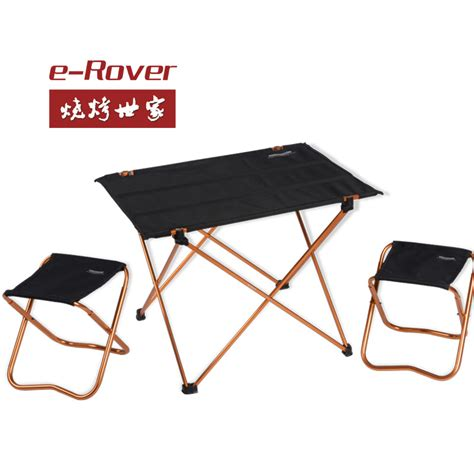 Folding Table And Chairs Freeshipping 1table 2stools Picnic Tables And Chairs Set Aluminum Alloy Folding Tables And
