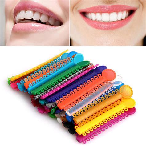 Rubber Bands For Braces Colors by 1040pcs Dental Orthodontic Ligature Ties Elastic Rubber