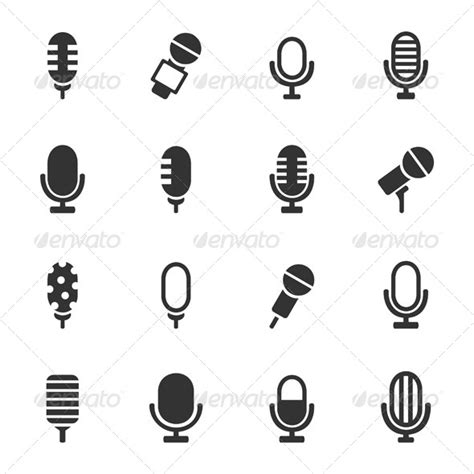 small microphone tattoo designs person microphone icon 187 dondrup
