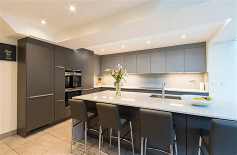 Nobilia Slate/Mineral Grey Kitchen Chessington   Richmond