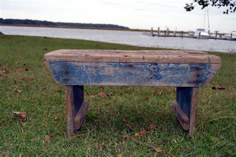 old bench old blue wooden bench these days of mine