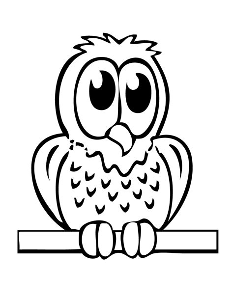 coloring page baby owl baby owl coloring page h m coloring pages