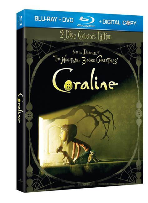 Coraline 2d 3d 1 Disc coraline is on way to and dvd in 2d and 3d syndicate