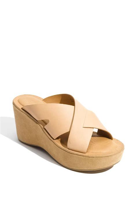 kork ease shoes kork ease kork ease slide sandal in beige