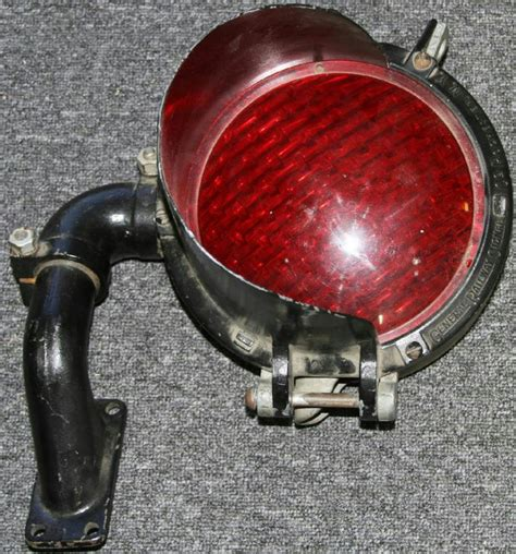 antique railroad lights for sale vintage railroad crossing light shop collectibles daily