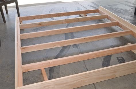 Bed Frame Joints A Platform Bed Frame Woodworking Ideas Bed Frame Joints