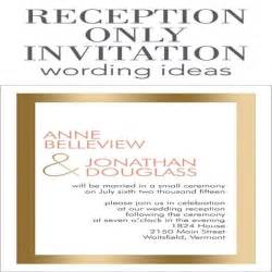 wedding ceremony invitation wording 1000 ideas about wedding reception invitation wording on