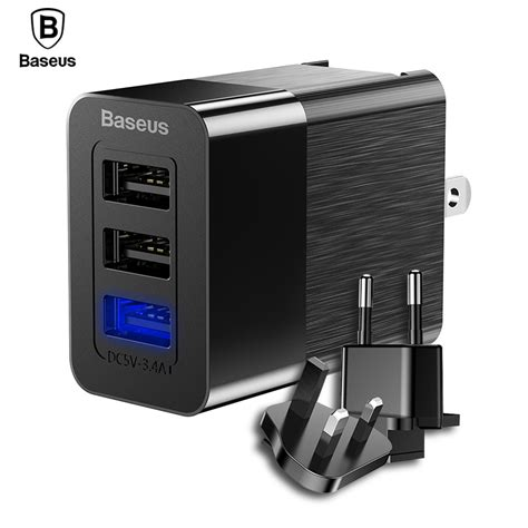 Adaptor Charger Mobil Saver Car Charger 3in1 3 Output 51 A baseus 3 port usb charger 2 4a fast charge travel wall charger adapter 3 in 1 eu us uk mobile