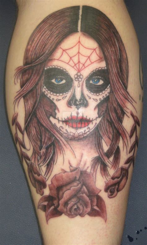 deviant tattoos day of the dead by threedayslong on deviantart