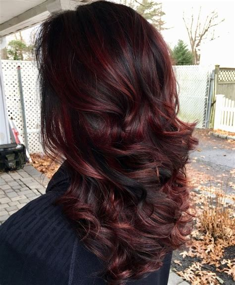 burgundy hair color with highlights 50 shades of burgundy hair maroon wine