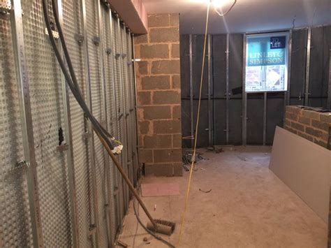 basement waterproofing at flooded basement flats in wakefield